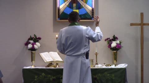 Worship Service for October 18, 2020 Part 1