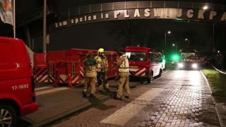 Incendio devasta parte de un parque de atracciones en Países Bajos