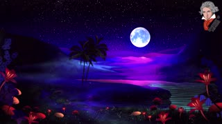 Moonlight Sonata By Beethoven. Music For Studying, Relaxing, Sleeping And Stress Relief
