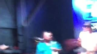 Kid Rock Singing downtown Nashville