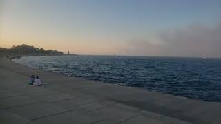 Beautiful Lake Michigan in Chicago