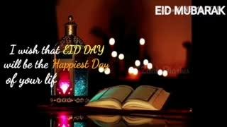 Eid Mubarak to everyone