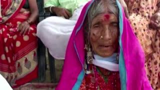 Indian centenarian couple defeat COVID-19