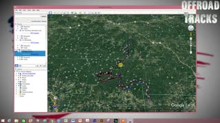 Offroad Tracks Tutorial Import KML Track to Google Earth