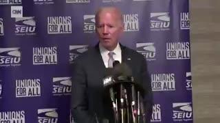 Biden screams at media