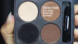 Beginners Smokey Eye Makeup Tutorial. How To Apply Eyeshadow