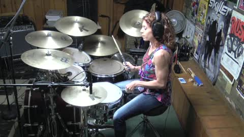 Jane by Jefferson Starship ~ Drum Cover