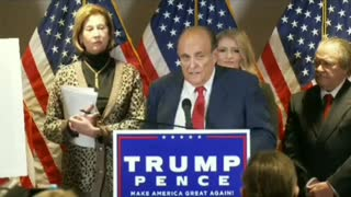 POWERFUL! Rudy Giuliani on Election FRAUD Collusion Racketeering