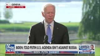 Biden Misquotes Declaration of Independence AGAIN