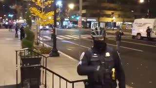 Antifa Threatens Trump Supporters in Washington DC Hotel
