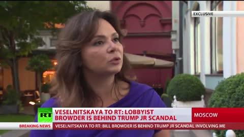 Russian Lawyer Natalia Veselnitskaya Talking About Targeting By Bill Browder | The Washington Pundit