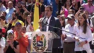 Así transcurre la nueva marcha de venezolanos contra Nicolás Maduro