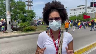 Jornada de protesta en Cartagena