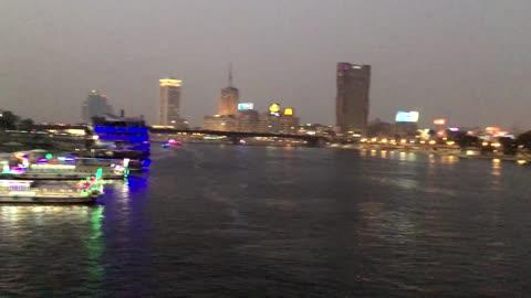 Cairo Nile Street Trading Walks