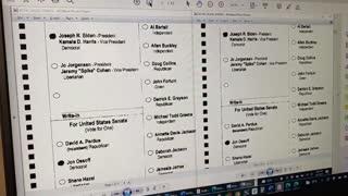 Voter Fraud Evidence in Fulton County, GA