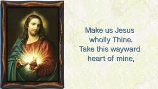 Heart of Jesus meek and mild