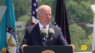 Biden Cracks A Joke At Coast Guard Commencement And No One Claps