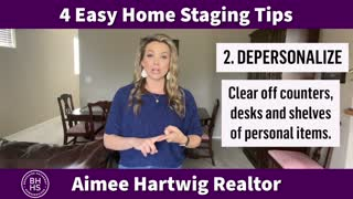 4 Easy Home Staging Tips 💁🏼♀️🏡