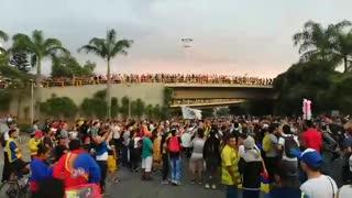 Paro 4D Video 1 Puerta del Sol Bucaramanga
