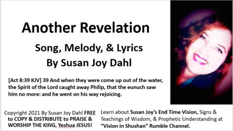 Another Revelation By Susan Joy Dahl Worship Song Video