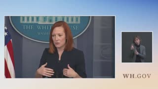 """Reporter Tells Jen Psaki """"That's Not Funny"""" After She Laughs About Serious Question"""