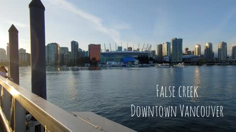 Downtown Vancouver and False Creek - City View