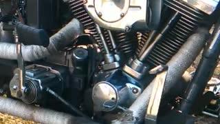 Harley Davidson Sound in Slow Motion
