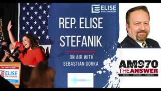 Elise Stefanik joins Sebastian Gorka to discuss her run for Republican Conference Chair