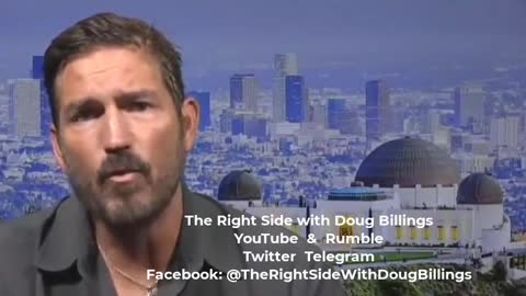 """Jim Caviezel on """"Lessons from Ronald Reagan"""""""