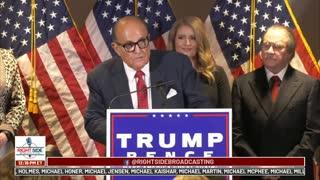 Reupload RSBN coverage Trump Campaign Lawyer Presser 11-19-2020
