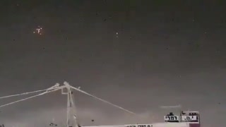 WATCH: Israel's Iron Dome intercepts barrage of rockets from Gaza