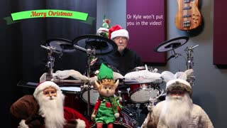 """""""Santa Claus is coming to town"""" Drumeo cover"""