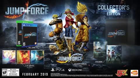 Jump Force - Akira Toriyama Characters Trailer