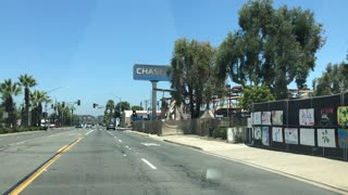 Chase bank in La Mesa burned down by BLM