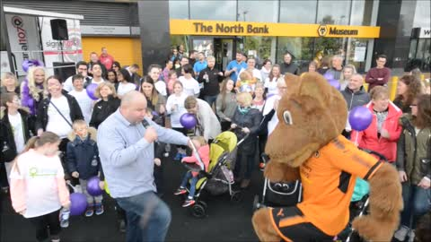 One Million Steps fundraiser starts at Molineux