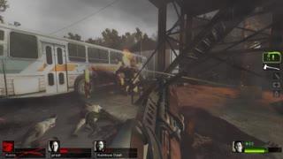 Left 4 Dead 2 - Taaannnk!! Mutation On Cold Stream Finale