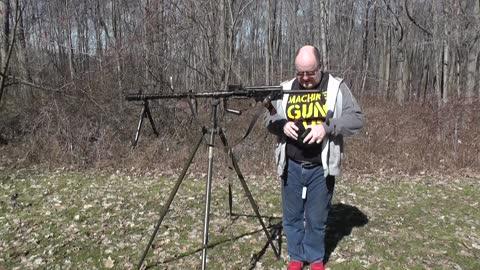 MG-13 shooting blanks through an original blank adapter
