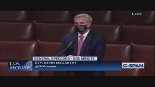 Kevin McCarthy Corners Pelosi for Keeping Swalwell on the Intelligence Committee