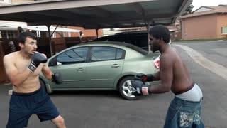 Super man punch