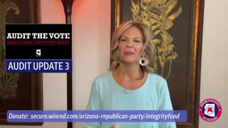 Arizona Election Audit Update From Dr. Kelli Ward, The Fight Goes On