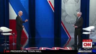 Joe Biden Caught Spewing MASSIVE Lie During CNN Town Hall