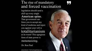 Forced Vaccination Is Totalitarianism