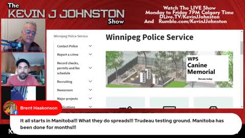 !!!!EMERGENCY BROADCAST!!!!! Canada IS a police State