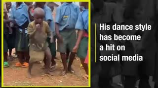 A kid with a awesome dance style