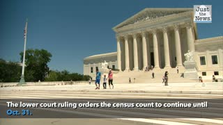 Supreme Court orders census count to stop while Trump administration litigates dispute
