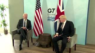Biden and Johnson meet ahead of G7 summit