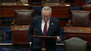 Chuck Schumer Says Trump Should Be Barred From Holding Office Ever Again