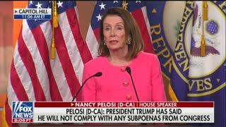 Pelosi falsely accuses Barr of lying