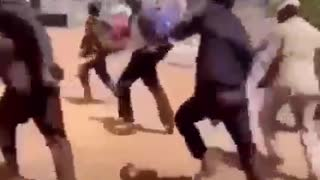 Dancing move of some people in Africa
