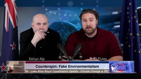 Counterspin Ep. 13 - FAKE ENVIRONMENTALISM
